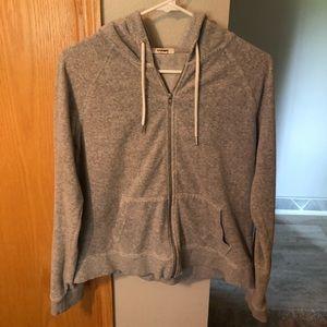 Garage zip up sweater